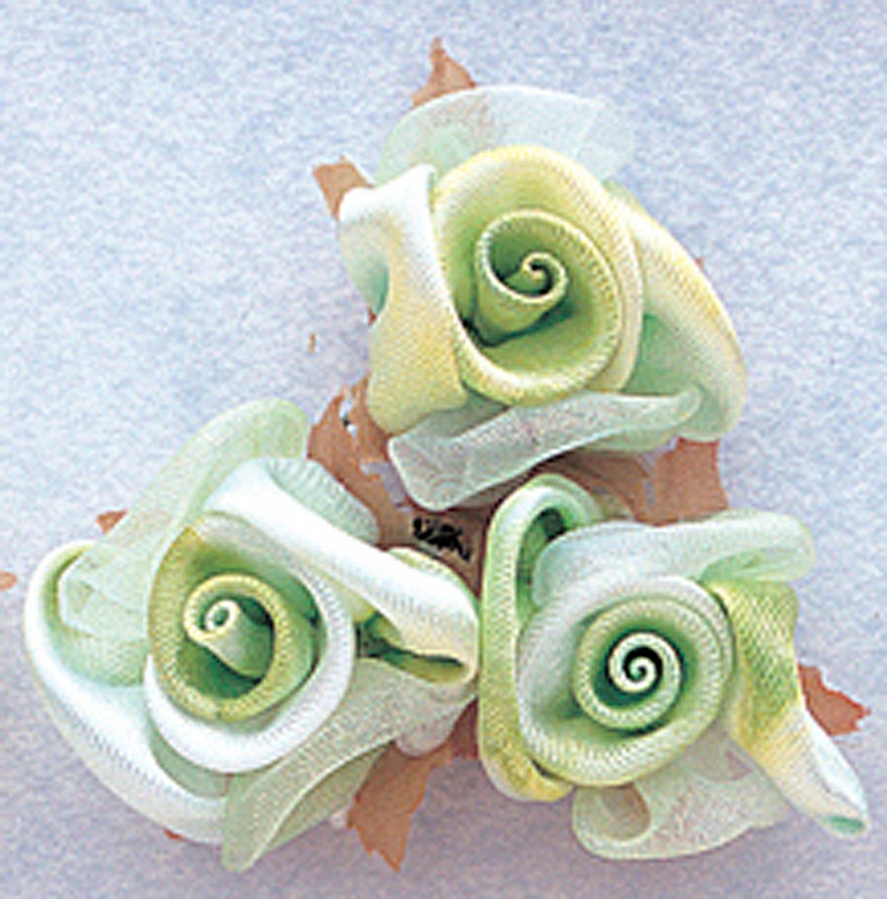 1 mint green satin silk flowers pack of 36 cb flowers crafts 1 mint green satin silk flowers pack mightylinksfo