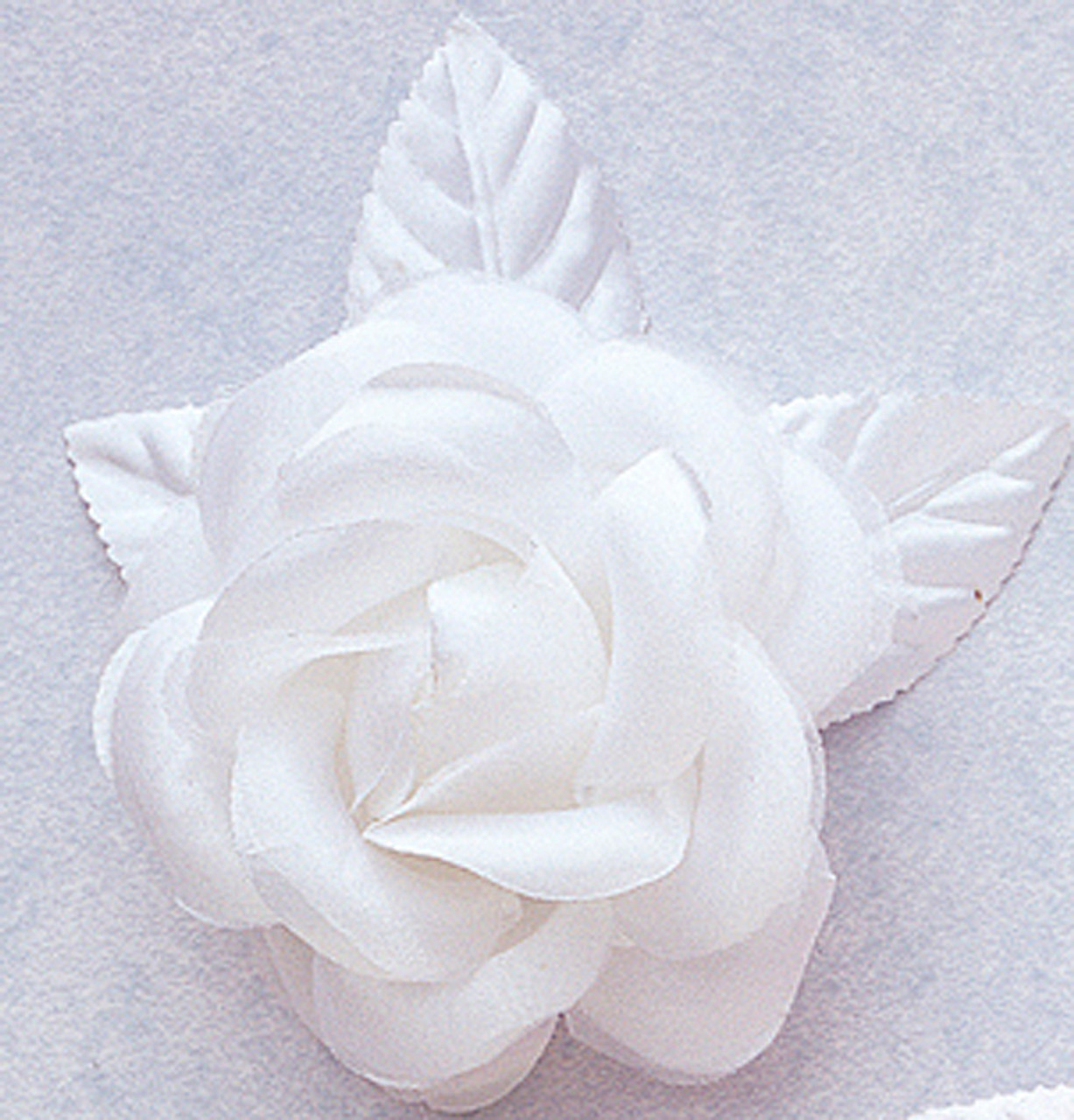 4 White Big Silk Flowers Pack Of 12 Pieces Cb Flowers Crafts