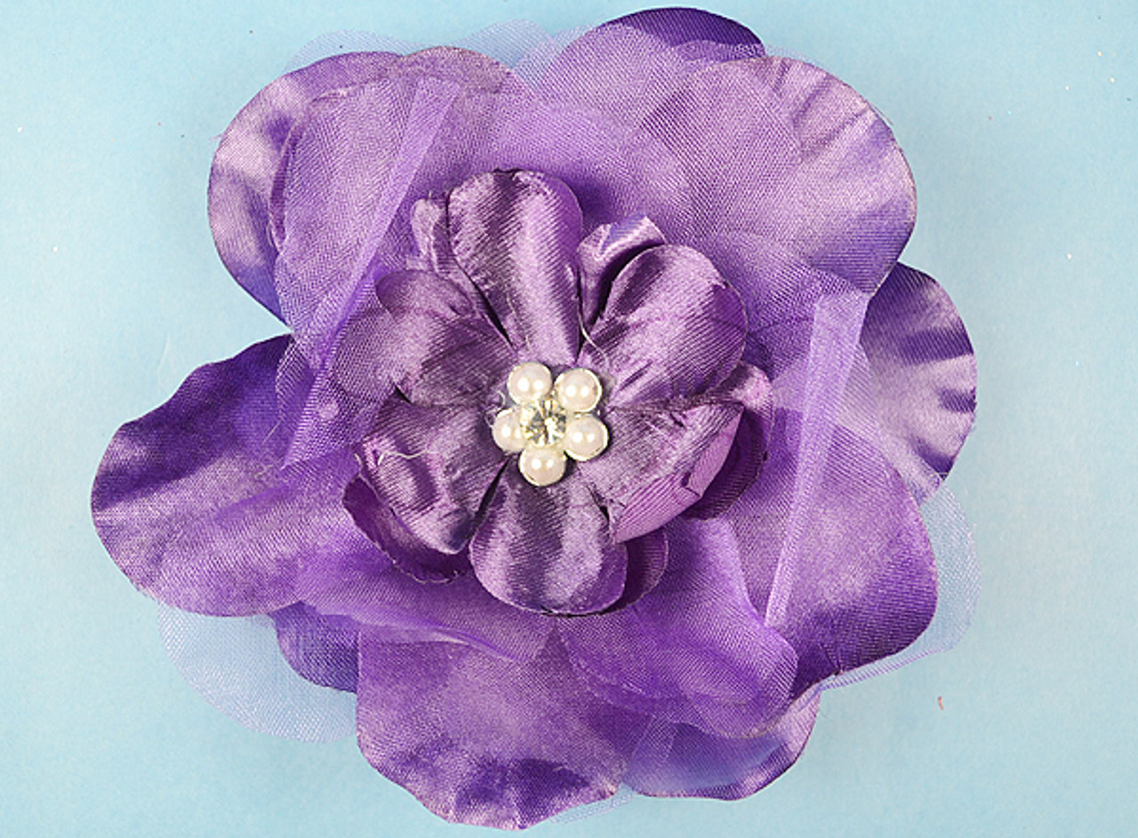 45 purple large silk flowers with rhinestone pack of 12 pieces 45 purple large silk flowers with rhinestone pack of 12 pieces mightylinksfo