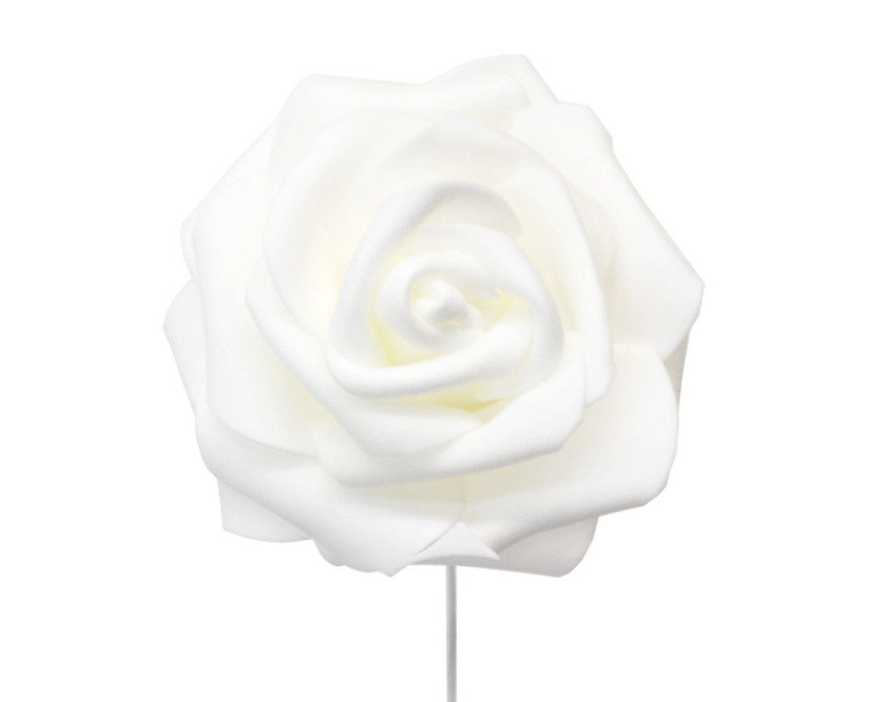 2 34 white rose foam flowers pack of 120 pieces cb flowers 2 34 white rose foam flowers pack of 120 pieces mightylinksfo