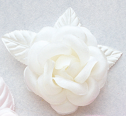 4 ivory big silk flowers pack of 12 pieces cb flowers crafts 4 ivory big silk flowers pack of 12 pieces mightylinksfo