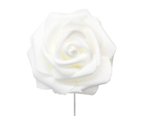 Flowers special flowers rose foam flowers cb flowers crafts 2 34 white rose foam flowers pack of 120 pieces mightylinksfo