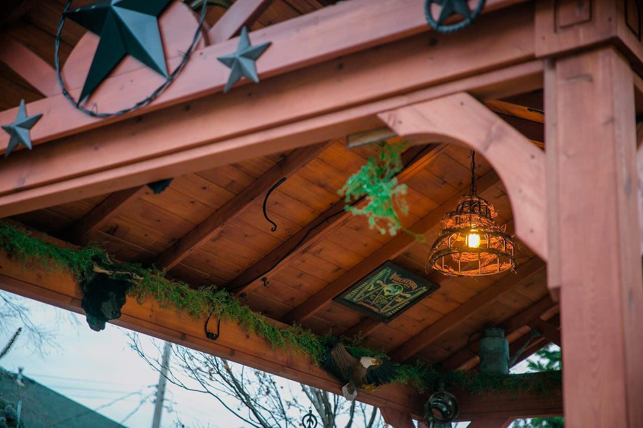 14' x 10' Gabled Pavilion, Western Red Cedar