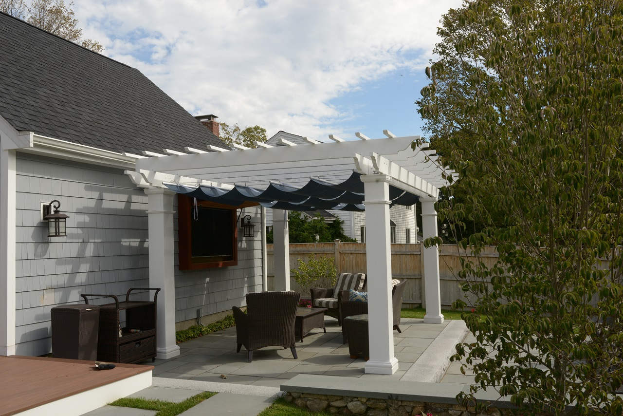Enjoy the game in your backyard, under your Infinity Canopy™ shade system.