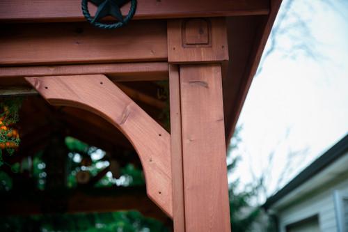 Red Cedar Patio Cover Kits Cedar Pavilion Kits Pre Made