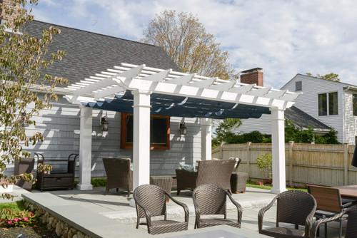 Pergola kits usa fiberglass pergola kit retractable canopy solutioingenieria Images