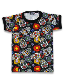Six Bunnies Sugar Skulls Tee Shirt