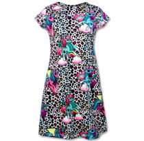 Six Bunnies Unicorn Party Dress - Short Sleeve