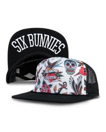 Six Bunnies Tattoo Shoppe Kids Trucker Cap