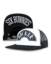 Six Bunnies Rocker Cap