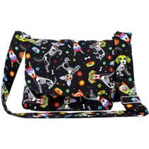 Hemet Dog Day Of The Dead / Dia De Los Muertos Messenger Bag