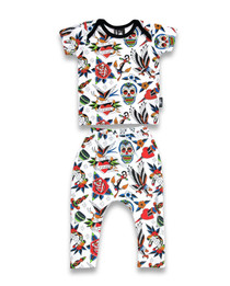 Six Bunnies Tattoo Shoppe Pyjama Set