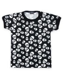 Six Bunnies Polka Skulls Tee Shirt