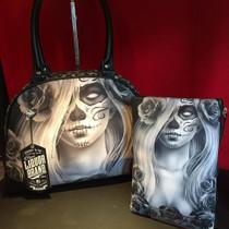 Liquorbrand Love Cosmetic Wallet Bag - flatlay