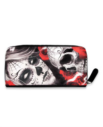 Liquorbrand Eternal Bliss Skull Wallet - front