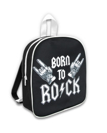 Six Bunnies Born to Rock II Backpack