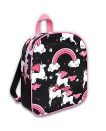 Six Bunnies Rainbow Unicorns Kids Backpack