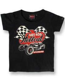Hot Rod Hellcat Speedshop Kids Baby Tee Shirt
