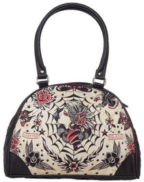 Liquor Brand Gypsy Queen Bowler Bag - front