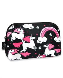 Liquorbrand Rainbow Unicorns Cosmetic Bag