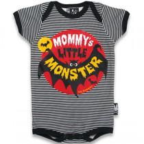 Six Bunnies Mommy's Little Monster Onesie