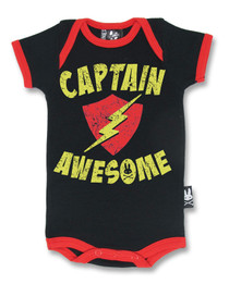 Six Bunnies Captain Awesome Baby Romper