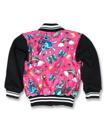 Six Bunnies Pink Unicorn Jacket