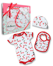Six Bunnies Cherries 3 pcs Gift Set
