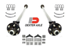 "12k Dexter Tandem Idler Axle Trailer kit. Includes (2) 6,000 lb idler trailer axles 6 lug, (4) 5 leaf double eye springs, (2) 3"" u bolt kits and (1) tandem axle hanger kit for double eye springs. Everything included to mount the trailer axles to your trailer."