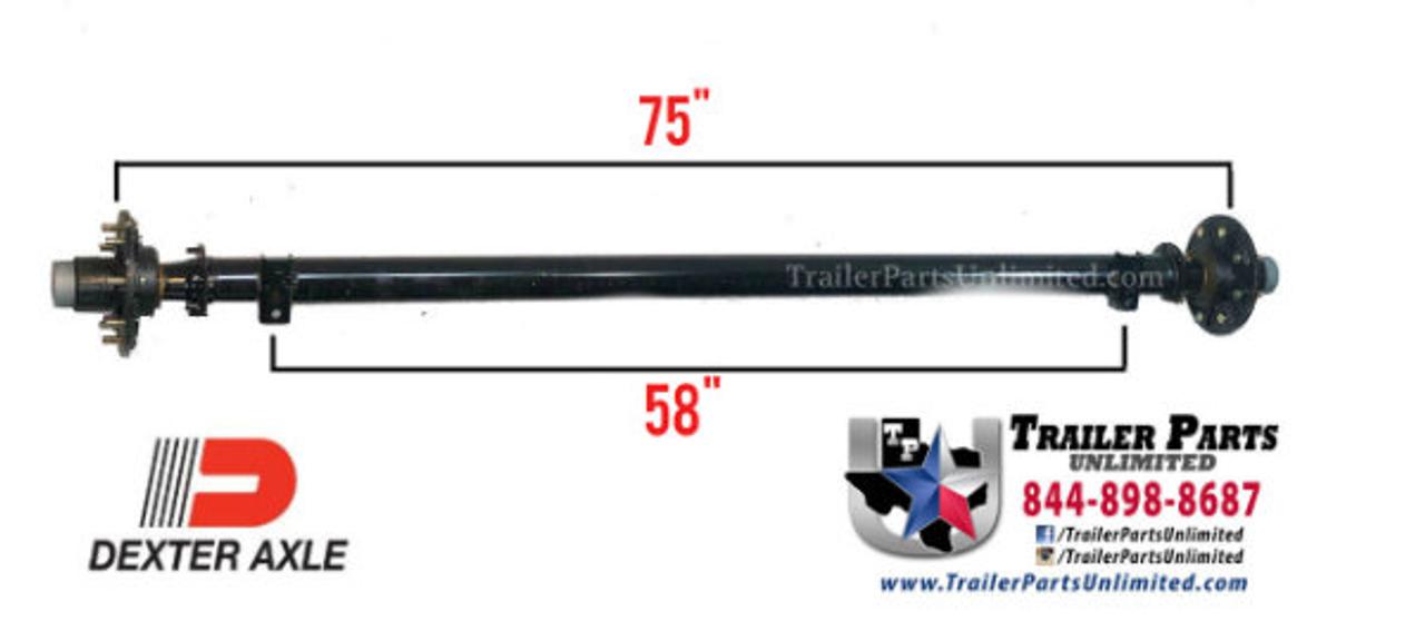 dexter 6k trailer axle. 5 foot wide trailer frame