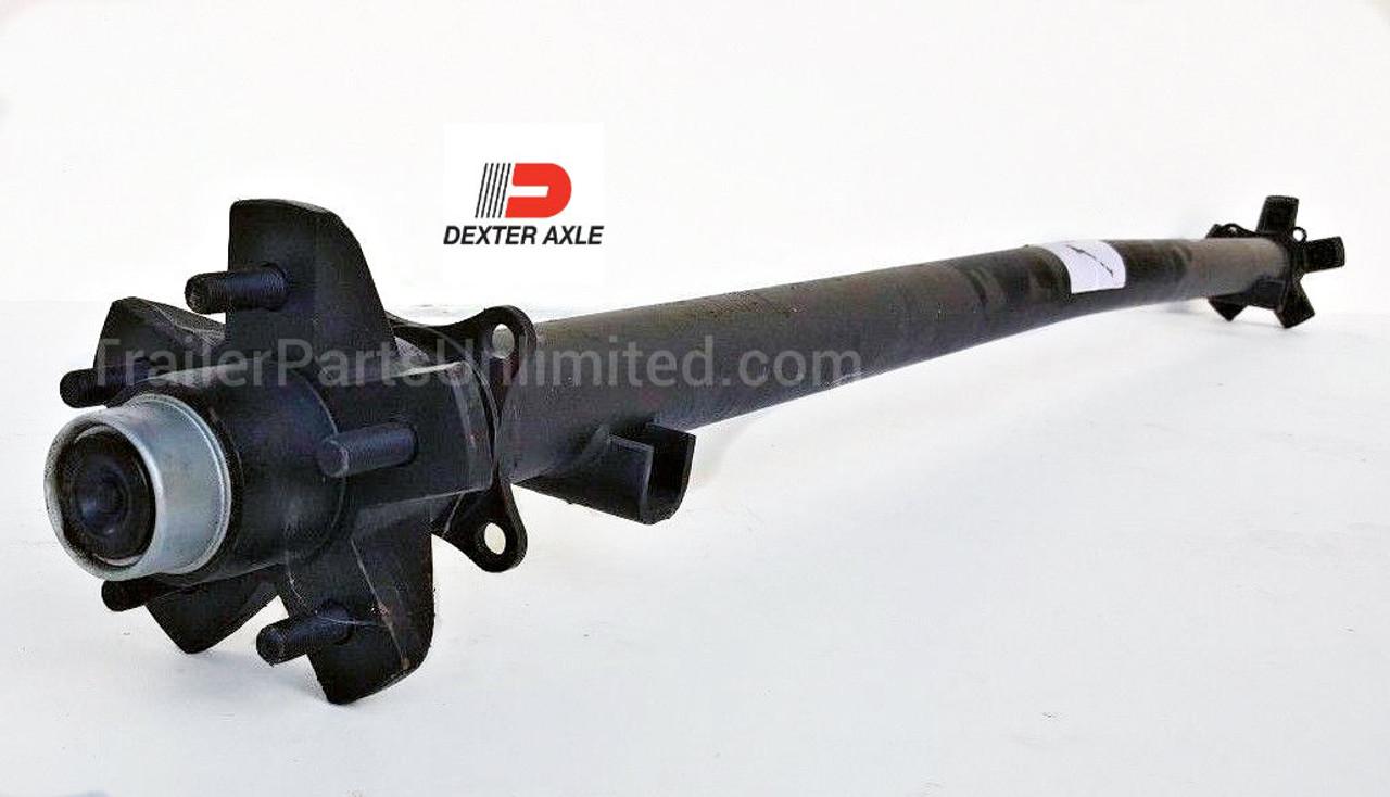 Dexter Trailer Axle.3.5k  capacity idler axle ez lube hubs fully assembled