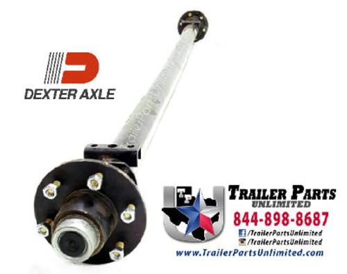"6 lug idler axle. Dexter Axle brand 6K IDLER AXLE FOR 72"" WIDE FRAME"