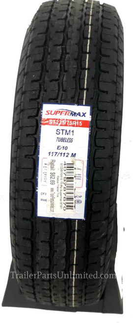 supermax trailer tire