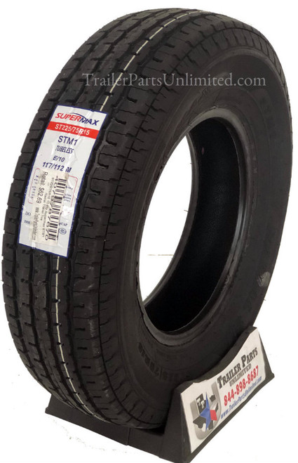 ST225/75R15 10 Ply Supermax STM1 Radial Trailer Tire