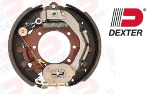 "Dexter 9K-10K electric self-adjust brake assembly Right Hand (Passenger Side) 12-1/4"" X 3-3/8"""
