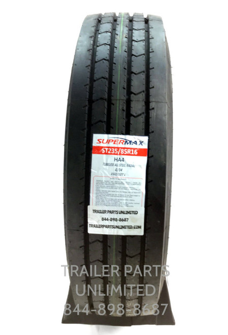 ST235/85R16 14-Ply Supermax HA4 All Steel Trailer Tire