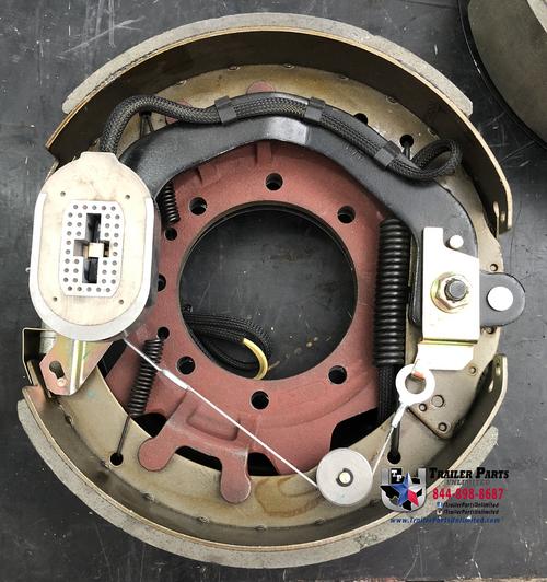 """Dexter 9K-10K electric forward self-adjust brake assembly Left Hand (Driver Side) 12-1/4"""" X 3-3/8"""""""