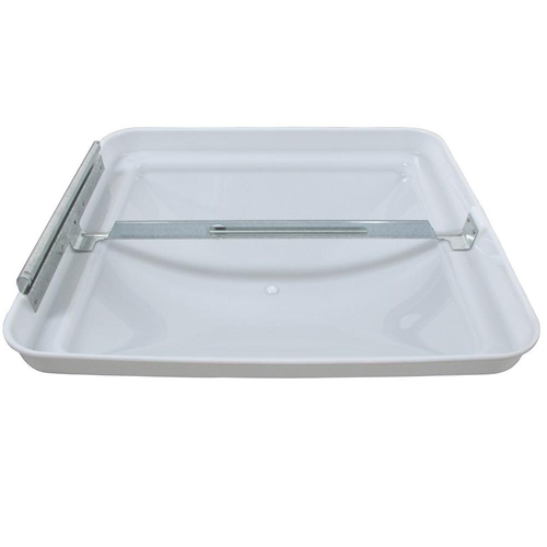 """Dome, Vent  replacement, white 14"""" x 14"""". mpn# BV0554-01"""