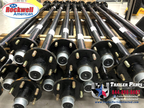 """2k Rockwell 59""""/47"""" Idler Axle 5x4.5"""" No Camber Posi-Lube Grease"""