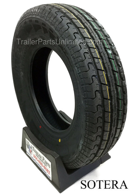 """13"""" ST175/80R13 6-Ply Sotera Radial Trailer Tire"""