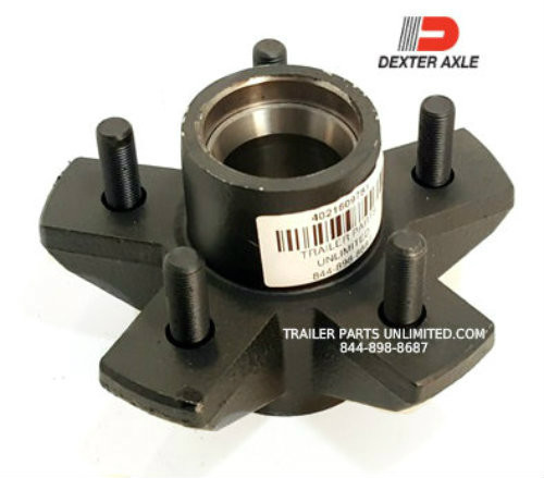 3.5k Dexter Hub, 5 Lug Trailer Hub Made In USA