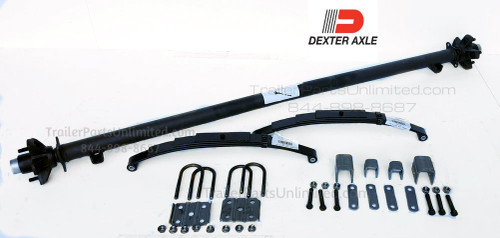 Dexter 3,500 lbs Trailer Idler Axle Kit (All Hardware included to mount axle)