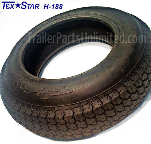 "15"" ST205/75D15 6-Ply Bias Trailer Tire"