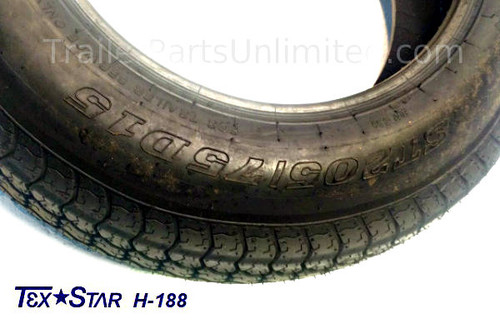 ST205/75D15 6ply bias tire