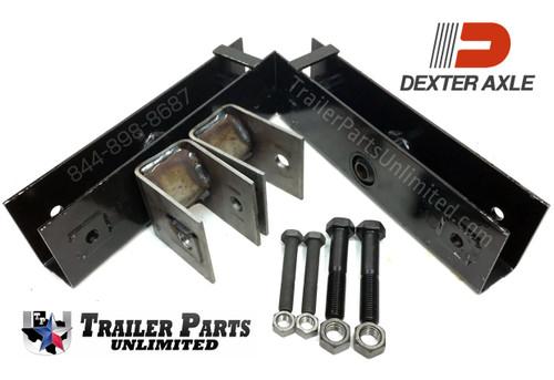 "Dexter 10k GD Multi-Axle Hanger Kit for 2-1/2"" Wide Springs 42.2"" Spacing"