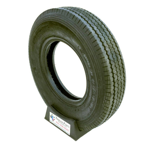 ST225/90D16 10 Ply Supermax Bias Trailer Tire (7.50-16)