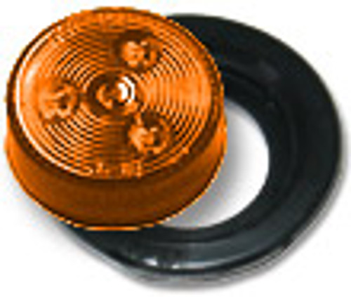 "2"" inch Round LED marker light for trailer use.  2"" Amber LED Marker Light Kit"