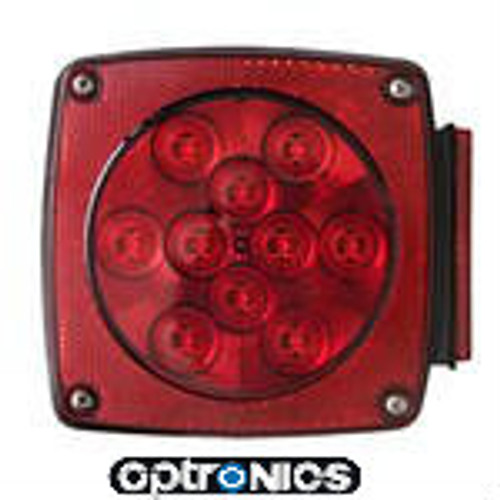 LED Universal Stud Mount - Right Stop Turn Tail Light Wide Side Marker