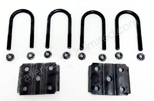 "2-3/8"" U-Bolt Kit for 3.5k Round Axles  (One Kit Per Axle)"