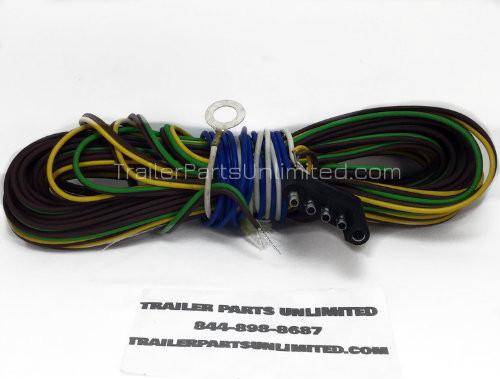 25' 5-Way flat wishbone trailer harness